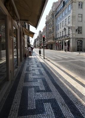 Calçada portuguesa Lissabon