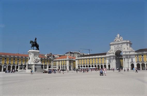 Platz des Handels Lissabon (2)