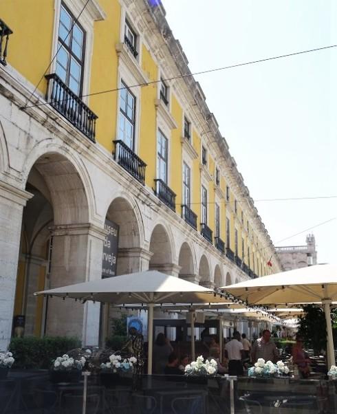 Platz des Handels Lissabon
