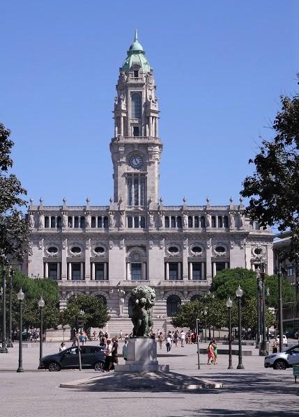 Rathaus Porto 2